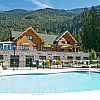 Bridal Falls RV Cottage Resort Pool, Deck & Hot Tub - Aug 2015